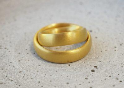 Eheringe 900er Gold
