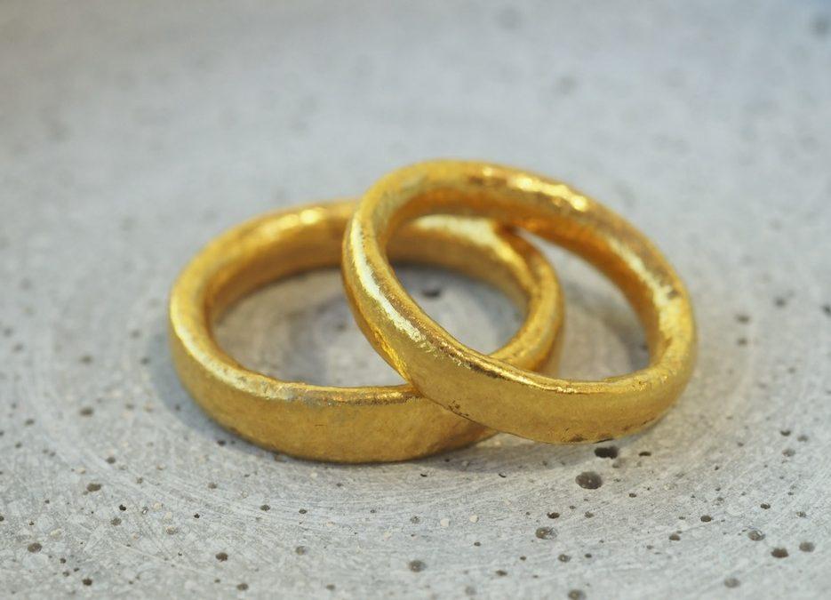 Eheringe 999er Gold